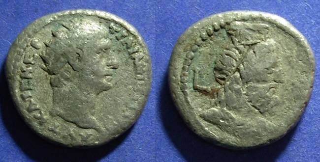 Ancient Coins - Roman Egypt, Trajan 98-117 AD, Tetradrachm