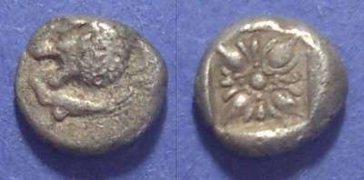 Ancient Coins - Miletos, Ionia Circa 500 BC, 1/12 Stater