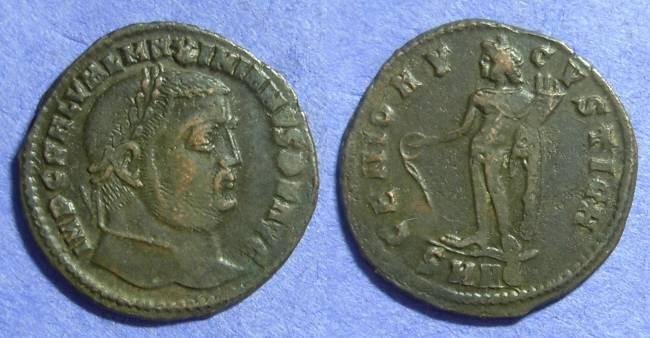 Ancient Coins - Galerius (as Augustus) 305-311 Follis