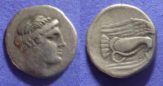 Ancient Coins - Chalkis Euboia – Drachm 340-294