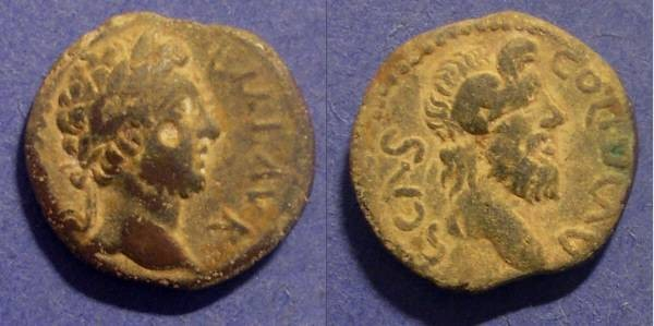 Ancient Coins - Cassandria Macedonia, Commodus 177-192, AE20
