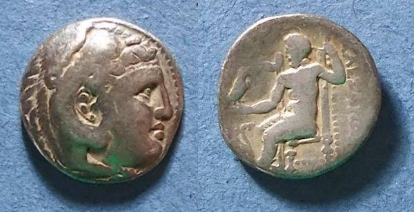 Ancient Coins - Macedonain Kingdom, Alexander III 336-323 BC, Drachm