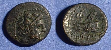 Ancient Coins - Arados Phoenicia AE16 2nd century BC