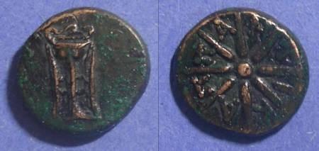 Ancient Coins - Pantikapion, Thrace Circa 250 BC, AE14