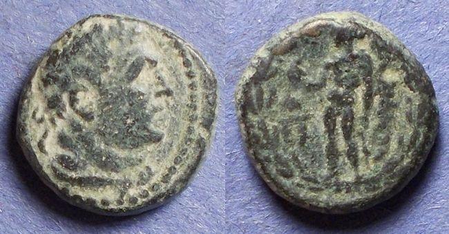 Ancient Coins - Sardes, Lydia 133BC-14AD, AE16