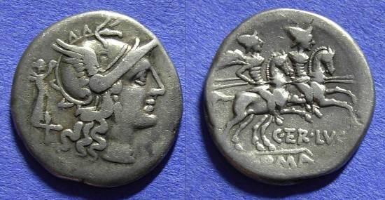 Ancient Coins - Roman Republic - Denarius - 147 BC - Terentia 10