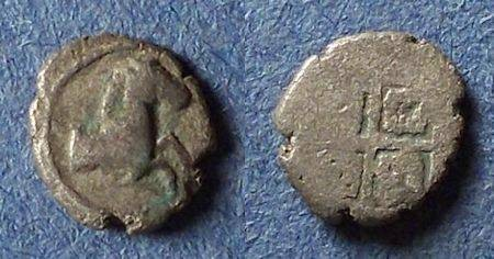 Ancient Coins - Thraco-Macedonian, Uncertain Circa 400 BC, Hemiobol