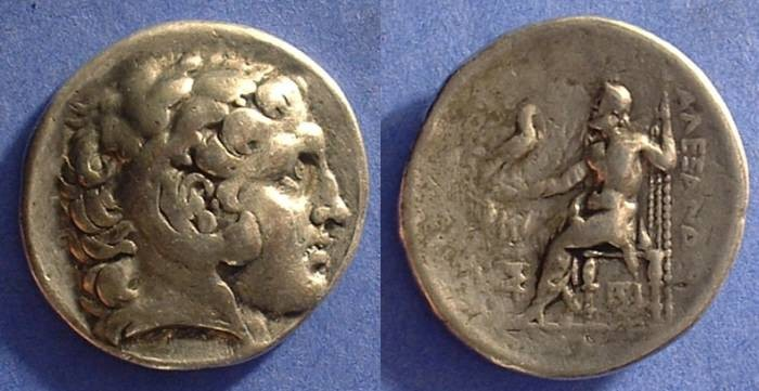 Ancient Coins - Macedonian Kingdom - Alexander III (the Great) Tetradrachm