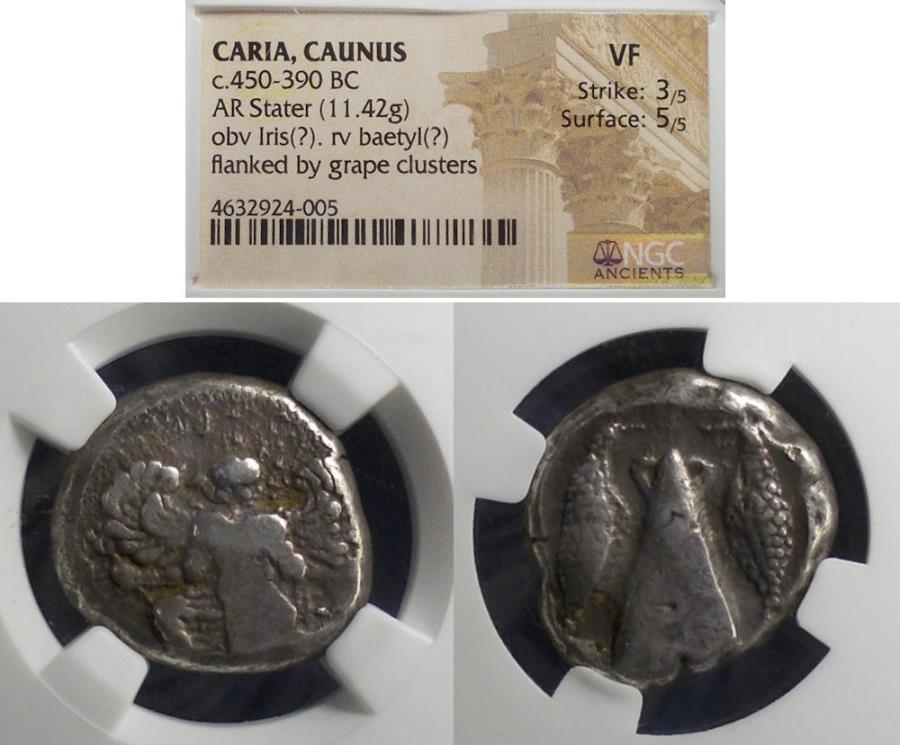 Ancient Coins - Caria, Kaunos 430-410 BC, Stater Ex-CNG