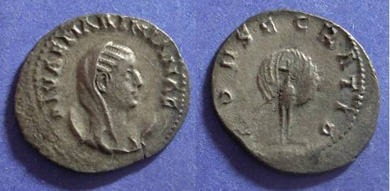 Ancient Coins - Roman Empire, Mariniana Struck 253, Antoninianus