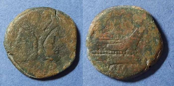 Ancient Coins - Roman Republic,  189-179BC, As