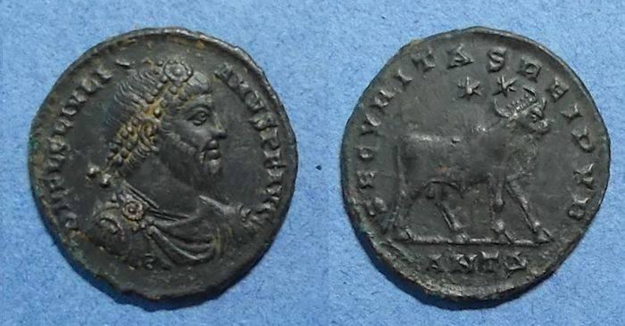 Ancient Coins - Roman Empire, Julian II 361-3, AE-1