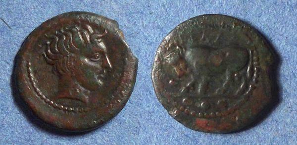 Ancient Coins - Geta, Sicily 420-405 BC, Tetras