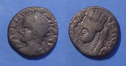 Ancient Coins - Roman Edessa Mesopotamia - Elagabalus 218-222 AE-17