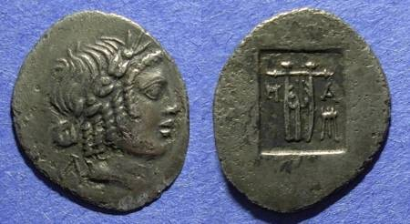Ancient Coins - Lycian League, Masicytus Circa 30 BC, Hemidrachm