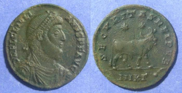 Ancient Coins - Roman Empire, Julian II 361-3 AD, AE1