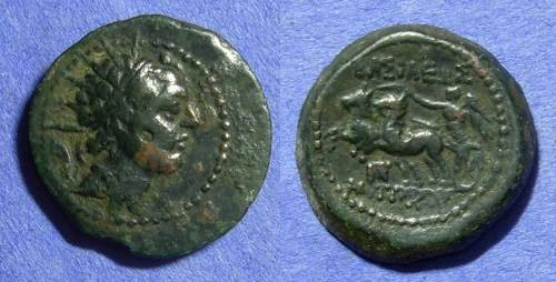 Ancient Coins - Seleucid Kingdom – Antiochos IV 175-164BC – AE21