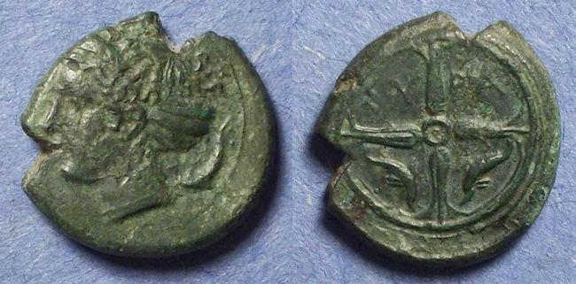 Ancient Coins - Syracuse Sicily,  Circa 415 BC, Hemilitron