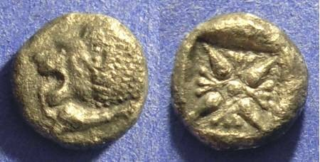 Ancient Coins - Miletos Ionia 1/12 Stater - Circa 500 BC