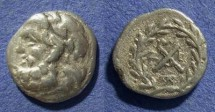 Ancient Coins - Achaian League, Messene Messina 195-188 BC, Hemidrachm