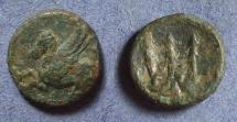 Ancient Coins - Corinth,  Circa 350 BC, AE11