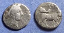 Ancient Coins - Neapolis, Campania 320-300 BC, Nomos