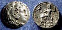 Ancient Coins - Kingdom of Macedonia, Alexander III (Posthumous) 336-323 BC, Tetradrachm