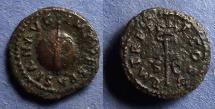 Ancient Coins - Roman Empire, Vespasian 69-79, Quadrans