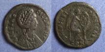 Ancient Coins - Roman Empire, Aelia Flaccilla 378-383, AE2,23mm