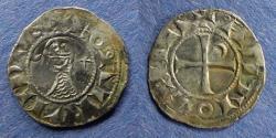 World Coins - Crusader, Bohemund III 1163-1201, Denier