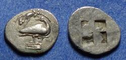 Ancient Coins - Macedonia, Eion 470-460 BC, Diobol