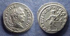 Ancient Coins - Roman Empire, Caracalla 193-217, Denarius