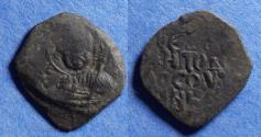 World Coins - Crusader states: Antioch, Tancred (Regent) 1101-3, 1104-12, Bronze Follis