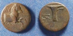 Ancient Coins - Aeolis, Kyme 300-250 BC, AE16