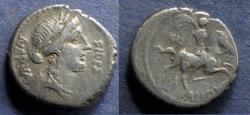 Ancient Coins - Roman Republic, A Licinius Nerva 47 BC, Denarius