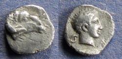 Ancient Coins - Caria, Kasolaba 420-400 BC, Hemiobol