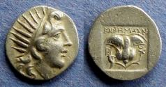 Ancient Coins - Islands off of Caria, Rhodes 170-150 BC, Drachm