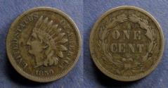 Us Coins - United States,  1859, Indian head cent