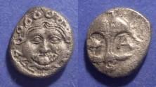 Ancient Coins - Apollonia Pontika, Thrace Circa 400 BC, Drachm