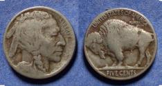 Us Coins - United States,  1913,  Buffalo Nickel, Type 2, F