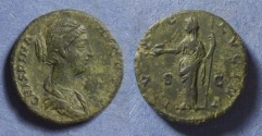 Ancient Coins - Roman Empire, Crispina 178-191, As