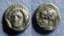 Ancient Coins - Cilicia Tarsos, Pharnabazos 380-374 BC, Obol