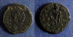 Ancient Coins - Roman Empire, Theodora Struck 337-340, AE4
