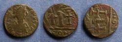 Ancient Coins - Byzantine Emipre, Justinian 527-565, Decanummium
