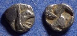 Ancient Coins - Ionia, Phokaia 521-478 BC, Tetartemorion