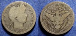 Us Coins - United States,  1896-O, Silver Barber Quarter, G