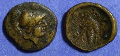 Ancient Coins - Lokris Opuntii,  338-300 BC, AE13