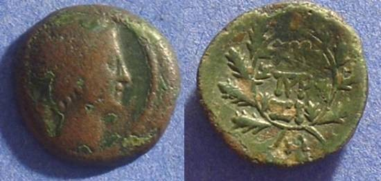 Ancient Coins - Epeirote kings - Pyrrhus 295-272BC AE18