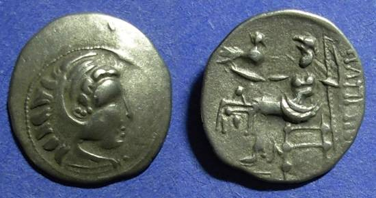 Ancient Coins - Celtic, Lower Danube region Circa 150BC, Drachm