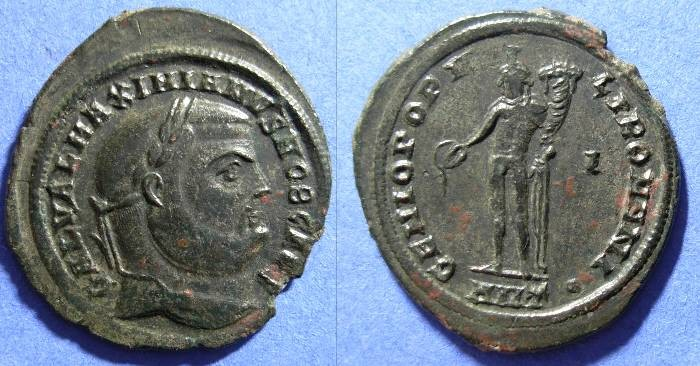 Ancient Coins - Galerius (as Caesar) 293-305 Follis